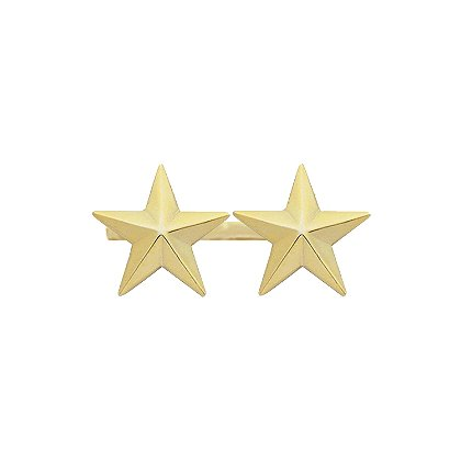 Smith & Warren Two Collar Stars on Bar, 1.88