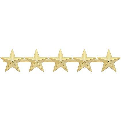 Smith & Warren Five Collar Stars on Bar, 4.7