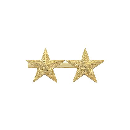 Smith & Warren Two Collar Stars on Bar, 1.76