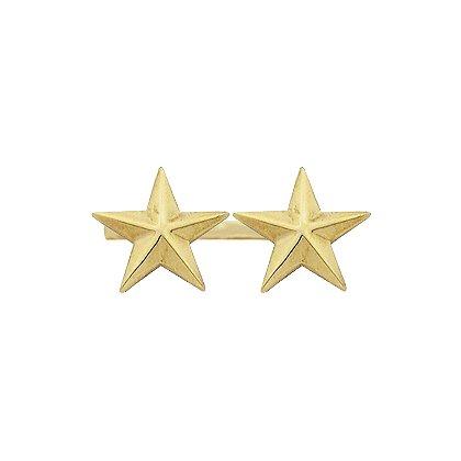 Smith & Warren Two Collar Stars on Bar, 1.56