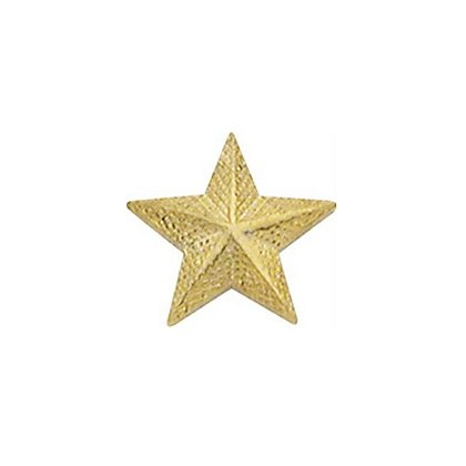 Smith & Warren Textured Collar Stars, .65