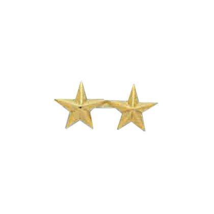 Smith & Warren Two Collar Stars on Bar, .76