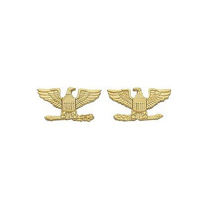 Smith & Warren Small Colonel Eagle Insignia Pin Set