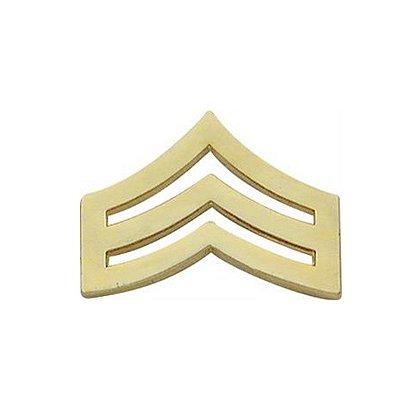 Smith & Warren Corporal Chevron Collar Pin, .89