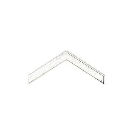 Smith & Warren Private Chevron Collar Pins, .77