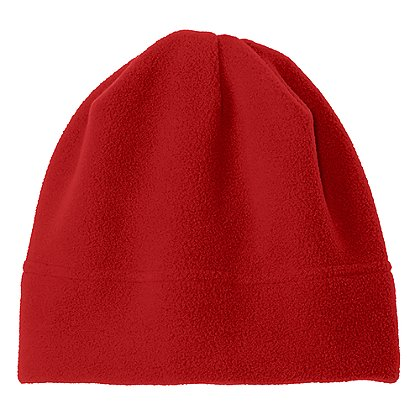 Port Authority R-Tek® Stretch Fleece Beanie, Red