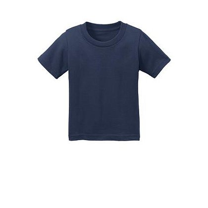 SanMar Precious Cargo Short Sleeve Cotton Infant T-Shirt, Navy