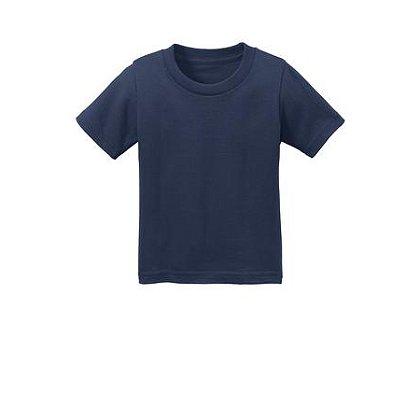 SanMar Precious Cargo Short Sleeve Cotton Infant T-Shirt, Navy