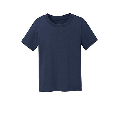 SanMar Precious Cargo Short Sleeve Cotton Toddler T-Shirt, Navy