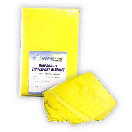 Primacare Disposable Yellow Foam Transport Blanket
