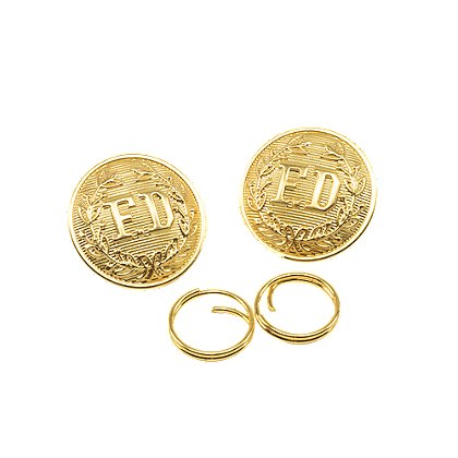 Elbeco Pair of Large Gold