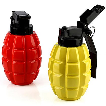Caliber Gourmet Set of Two Plastic Combat Condiment Dispensers