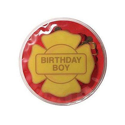 Birthday Boy Maltese Cross Stick-On Badge
