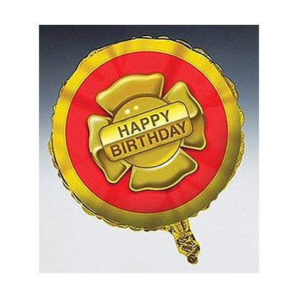 Happy Birthday Maltese Cross Balloon