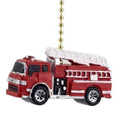 Fire Truck Ceiling Fan Pull Cord