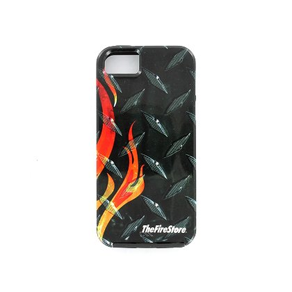 TheFireStore Exclusive Diamond Plate Logo Smart Phone Tough Case