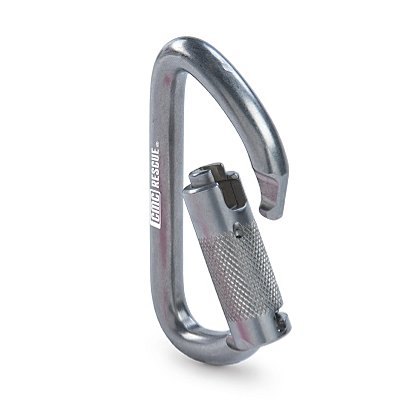 CMC Rescue Stainless Steel Carabiner, Autolock, UL Classified to NFPA 1983 - General Use and ANSI Z359.12 2009 Versions