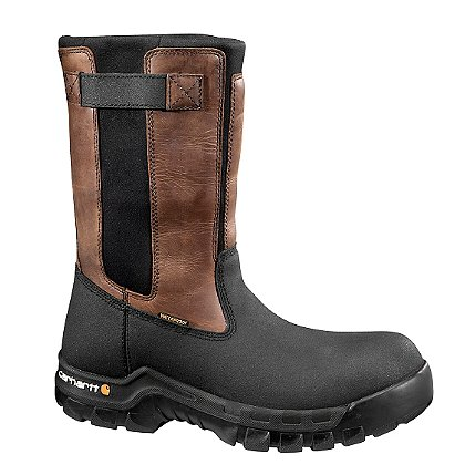 "Carhartt Men's 10"" Rugged Flex Waterproof Pull-On Wellington Boots"