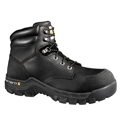 "Carhartt Men's 6"" Rugged Flex Waterproof Work Boots"