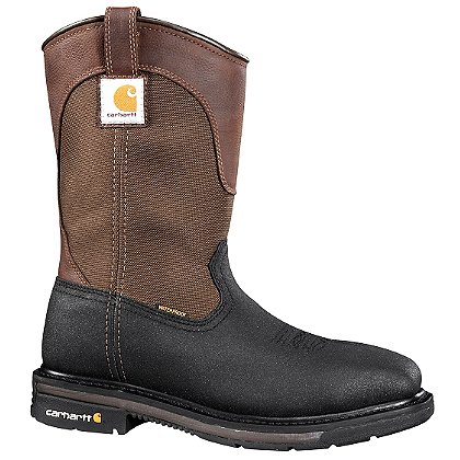 "Carhartt Men's 11"" Square Toe, Steel Toe Waterproof Wellington Boots"