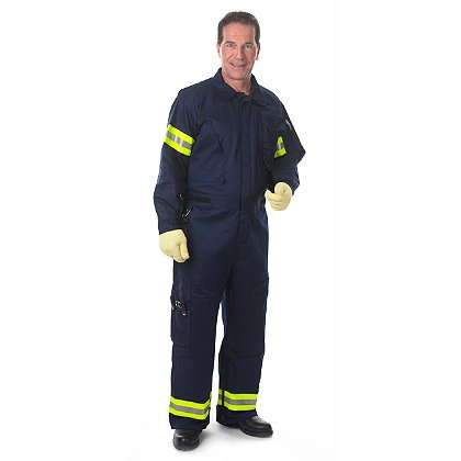 Lakeland: 9 oz FR Cotton 911 Extrication Coverall