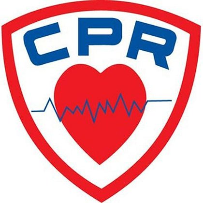 CPR Shield 3.5 Inch Decal