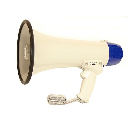 Code Red 20 Watt Loudmouth Megaphone with Siren