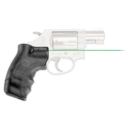 Crimson Trace LG-350G Green Lasergrips® for S&W J-Frame