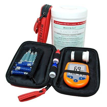 Cambridge Sensors Microdot Code 69 EMS Glucometer Kit
