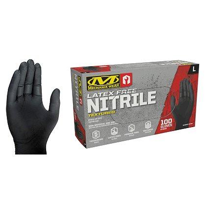 Mechanix Wear HD Black Nitrile Gloves