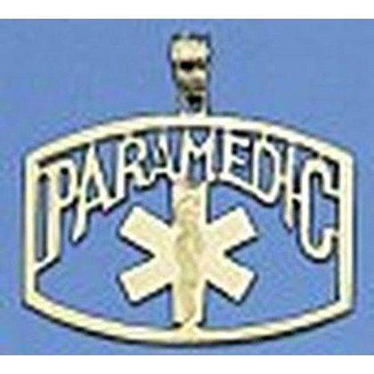 Paramedic Gold Charm