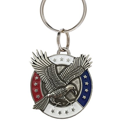 Danforth Pewter Freedom Keyring