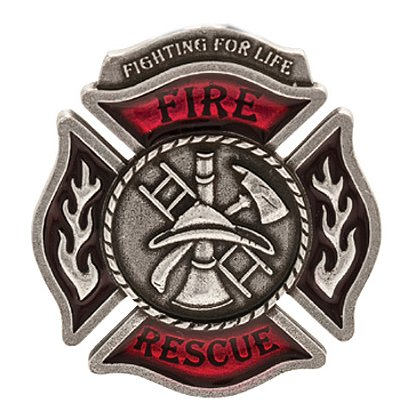 Danforth Pewter Fire Rescue Magnet