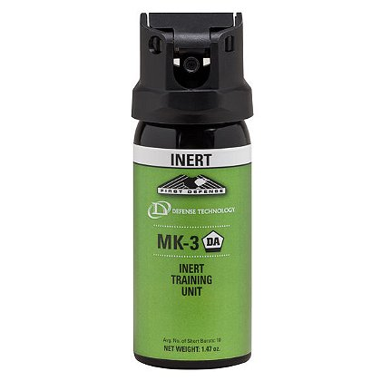 Defense Technology Inert MK-3, 1.47oz, Stream/Fogger