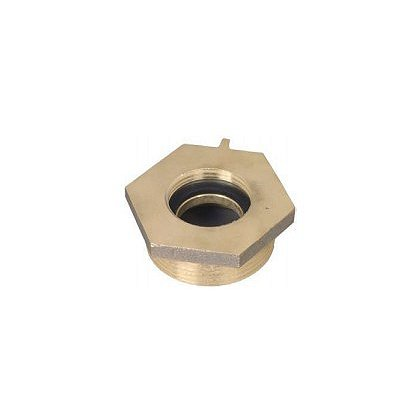 Dixon Female to Male Brass Hex Nipple