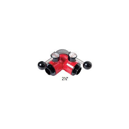 Dixon Aluminum 2-Way Ball Valve Female Swivel Inlet