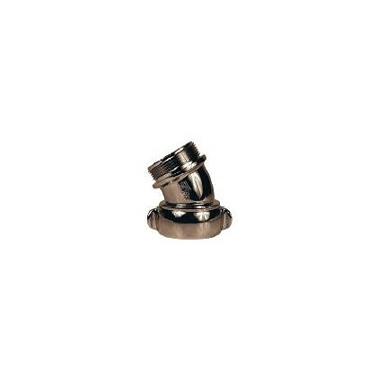 Dixon Style N54, Angle and Suction Elbow, Chromed Brass