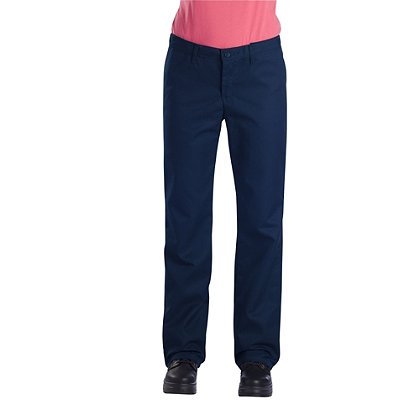 Dickies Women's Flat Front Comfort Waist Pant