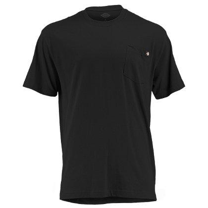 Dickies Short Sleeve Moisture Wicking Pocket T-Shirt, 100% Cotton