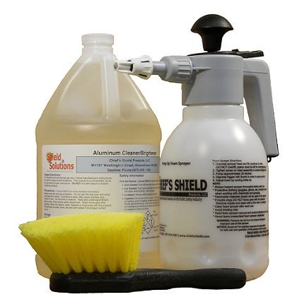 Shield Solutions Basic Diamond Plate Cleaning Kit
