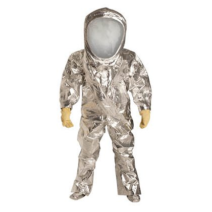 DUPONT™ TYCHEM® Reflector® Encapsulated Level A Suit, NFPA Cert, 1 per case