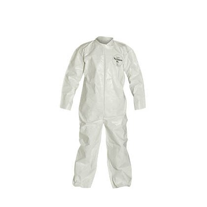 DUPONT™  TYCHEM® SL Coverall with Collar, Open Wrists and Ankles, 12 per case