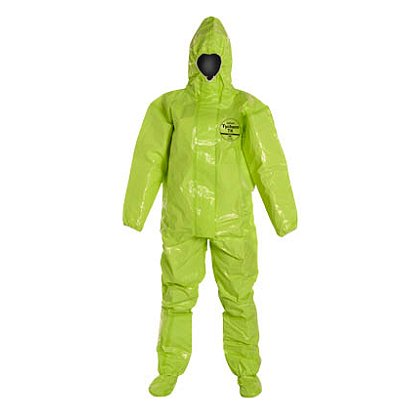 DUPONT™ TYCHEM® TK COVERALL with Respirator-Fit Hood, 2 per case