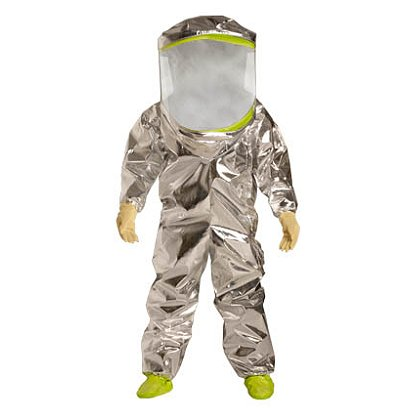 DUPONT™ TYCHEM® TK ENCAPSULATED SUIT, Front Entry, 1 per case