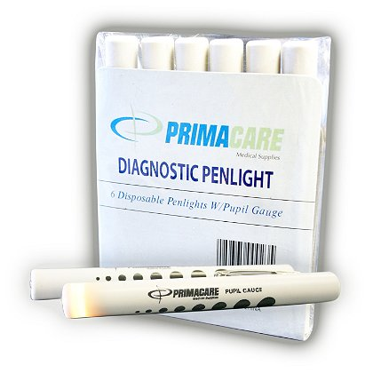 Primacare Diagnostic Penlight With Pupil Gauge