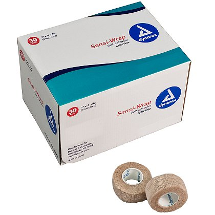 Dynarex Sensi Wrap Self Adherent Bandage, Latex Free