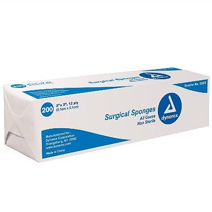 Dynarex Gauze Sponge, Non Sterile