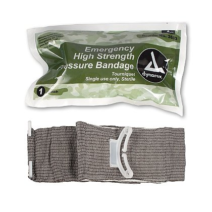 Dynarex Emergency High-Strength Pressure Bandage