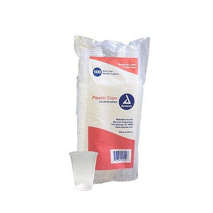 Dynarex Clear Plastic Drinking Cups