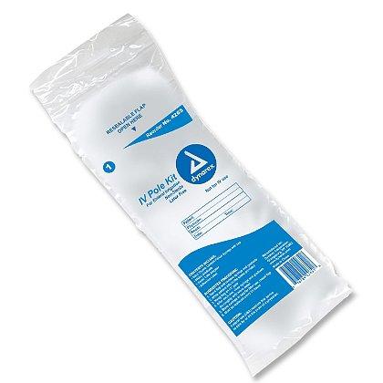 Dynarex IV Pole Kit with Enteral Feeding Syringe